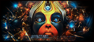 cyborg face by cooltraxx