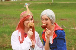 Adventure Time: Candy is Dandy by paper-stars
