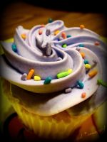 Cupcake with Sprinkles by snoopgirl