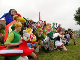Nintendo Group - Colossalcon 2013 by EndOfGreatness