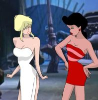 Cool World: Holli and Lonette by THAT1ANDONLY