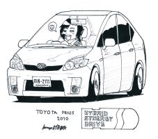 Toyota Prius HSD by ngarage