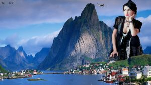 Giantess Sharon den Adel by ZituKX