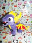 (StD)StarMassacre Shark Spyro Plush (Right Side) by KrazyKari