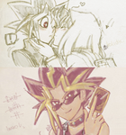 YGO odosketch scribbles by DS-Hina