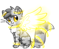 Angel Kitty by Le-Poofe