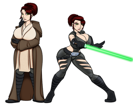 Katriel, Jedi Sentinel by RiddleAugust