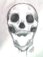 Skull practice by AngelJ7