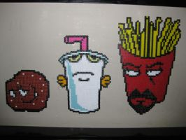 Aqua Teen Hunger Force by PlasticPixel