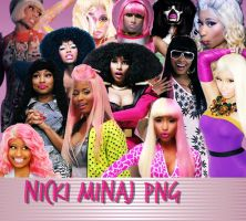 Pack Nicki Minaj PNG by KenMonster45