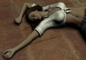 Amanda Jones Unconscious 1 by Torqual3D