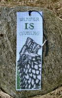 House Stark Bookmark by Katjakay