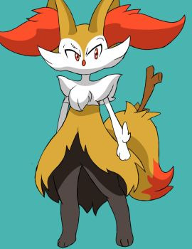 Male braixen by Reimon-Master-II