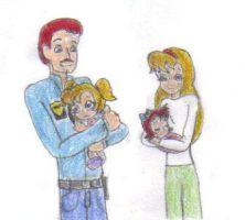 Bia and Jeri's Parents by KessieLou