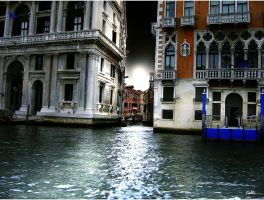 Venice Night Story by Callu