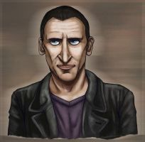 Ninth Doctor by ForestEcho