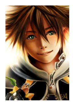 Sora: Eat paopu with me XD by Chadkroeger