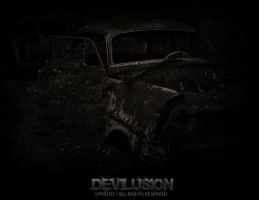 Car-Cemetery by D3vilusion