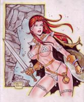 RED SONJA by RODEL MARTIN (01042014C) by rodelsm21