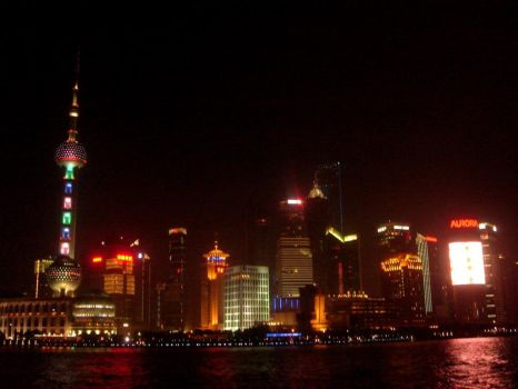 Pudong - at Night by devilyra-hideout