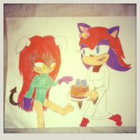 Happy Late Birthday! by Ask-rikal-the-cat