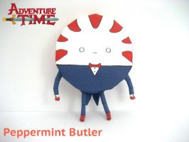 Peppermint Butler Papercraft by poethetortoise