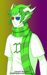 Homestuck - Erisolsprite practice by Tagami-Crown