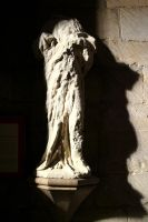 Statue - Tewkesbury Abbey by GothicBohemianStock