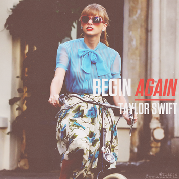 Begin Again Single Cover by Jo7777