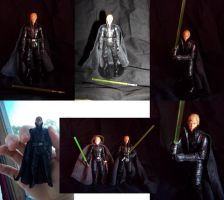 Custom Dark Empire Luke Figure by ayelid