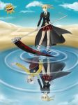 Maka and Soul - Reflection by TerraForever