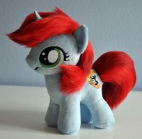 MLP Kathy OC Plush by Sethaa