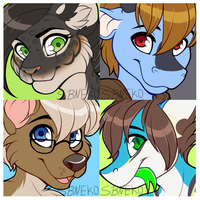 Icon Commissions - Batch 26 by strawberryneko33