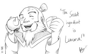 Day 13 - Iroh's great love by Kameia