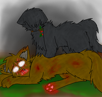Brokentail's Death by sodapoq