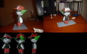 Cave Story Quote Papercraft by alex-rus07