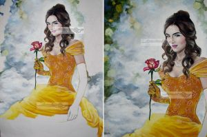 belle of rose wip3 by aramismarron