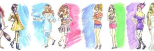 Heroines Series by Marissa-Emily
