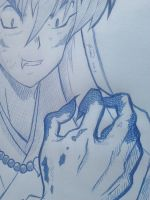 close up of INUYASHA by GSPARRowdeathlegend
