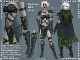 Bleackweave Witch Armor by Elvina-Ewing