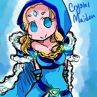 crystal maiden by Chibi-Noel