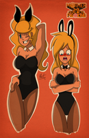 Polestar Bunnies by Marcotto