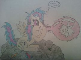 Sky Popper making her own thunder by fanofetcetera