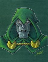 doctor doom by natelovett