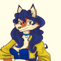 Carmelita Fox by Goofdaloop