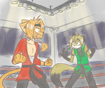 Fight Me -for CloudTK- by Mister-Saturn