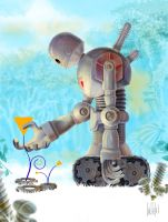Triangle Robot by Sidteles