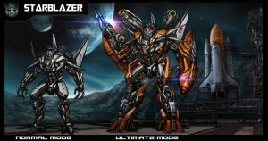 Transformer  - Starblazer by AlienTan