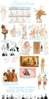 [2013] Sketch Dump 02 (and end) by NeipyPien