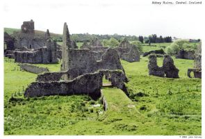 Abbey Ruins 03 - Ireland Trip by vagari